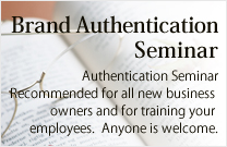 Jewelry Authentication Seminar
